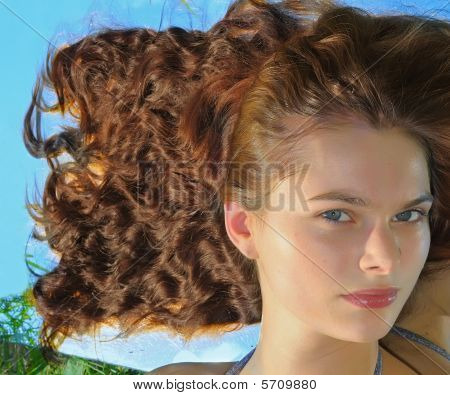 Woman With The Long Hair