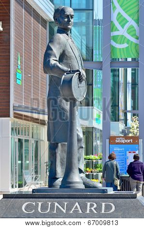 Statue of Sir Samuel Cunard