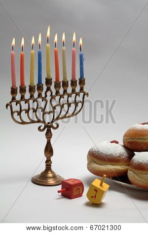 Hanukkah Concept