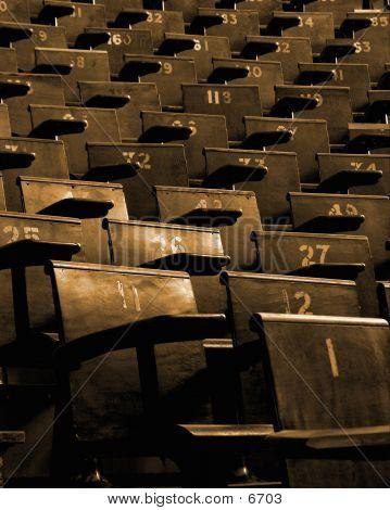 Hoorcollege zetels