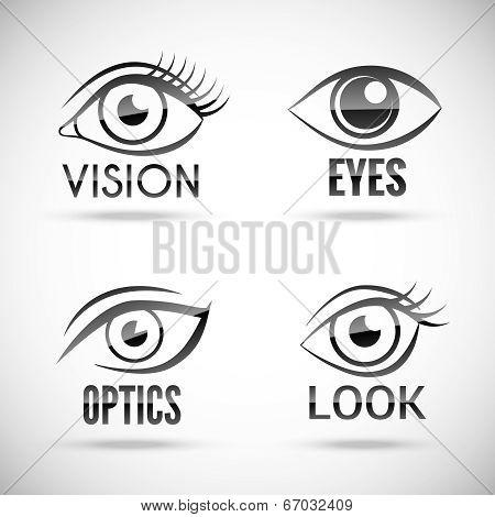 Eyes Icons Set