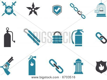 Protection Icon Set