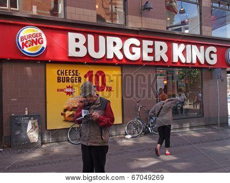 Burger King Shop Copenhagen