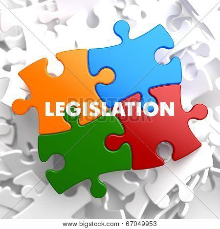 Legislation. Pastels Vintage Design Concept.