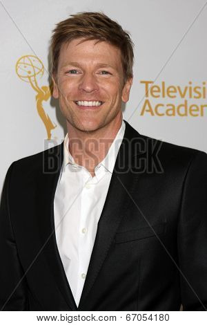 LOS ANGELES - JUN 19:  Burgess Jenkins at the ATAS Daytime Emmy Nominees Reception at the London Hotel on June 19, 2014 in West Hollywood, CA