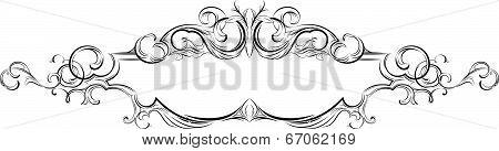 27_vector Frame With Floral Elements For Registration 4