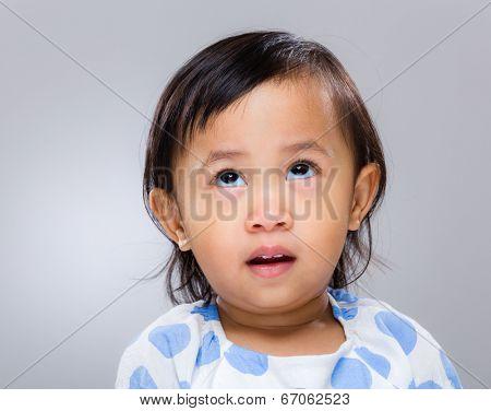 Little girl speechless