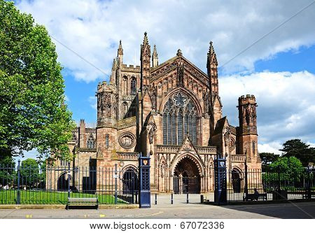Cathedral, Hereford.