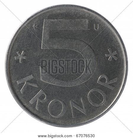 5 Kronor Coins