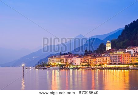 Bellagio On Lake Como In Italy