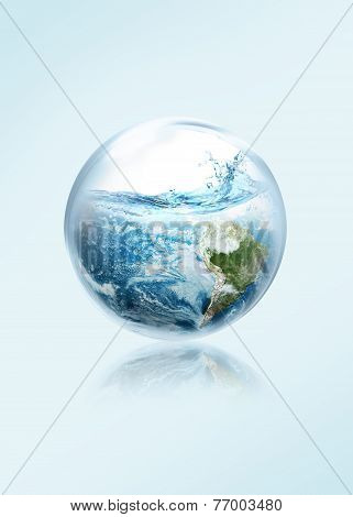 Save the earth from El Ni No.