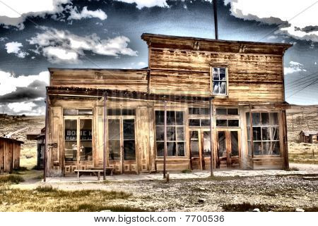 Bodie, CA - Wheaton and Hollis Hotel