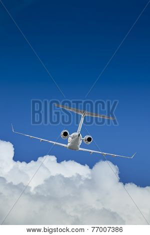 Private Jet Inflight