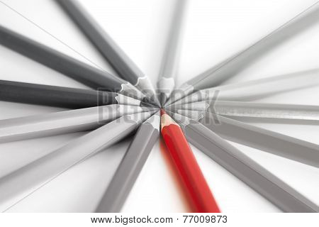 Standout - Think Differently - Red Pencil