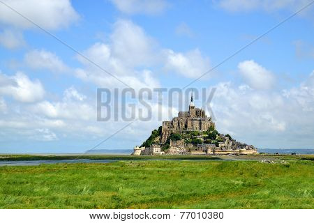 Mont Saint Michele, France