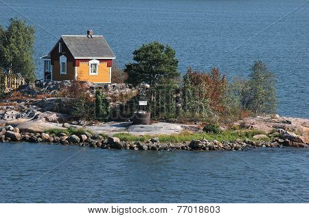 Small House In Island