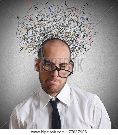 Stress Businessmen
