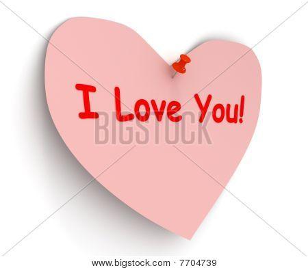 Valentine. I Love You