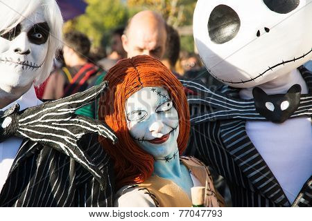 People Costumed