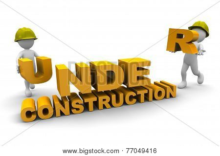 Workers And Under Construction