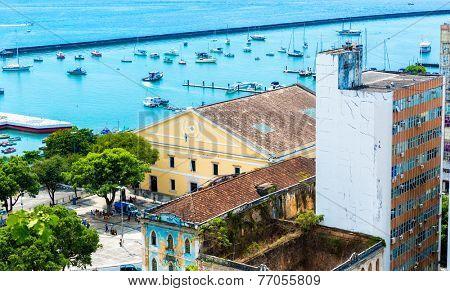 Salvador City in Bahia, Brazil