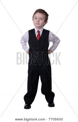 Businessman Boy