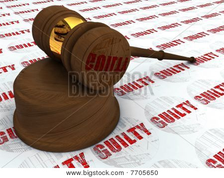 Justice Hammer And  Guilty
