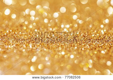 Abstract Rich Beautiful Golden Background