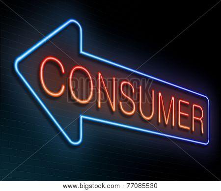 Consumer Concept.