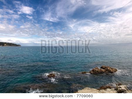 Costa Brava Sea Landscape