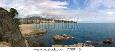 Panorama Of Lloret De Mar (girona, Spain)