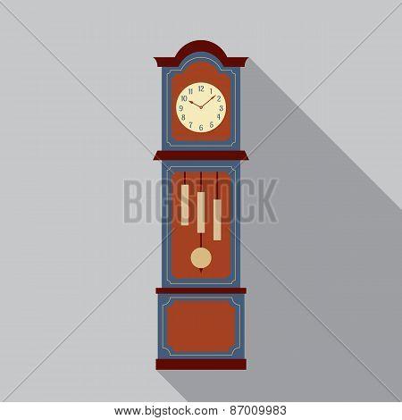 Grandfather Pendulum Clock.