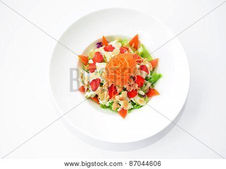Mixed fruits salad