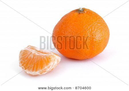 Clementine Tangerine And Sections
