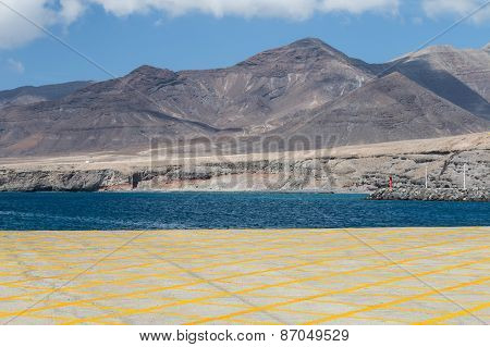 South Fuerteventura Landscape