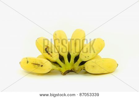 Ripe cultivated banan