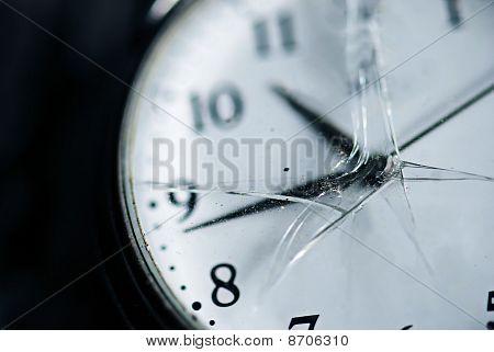 Broken Time Concept
