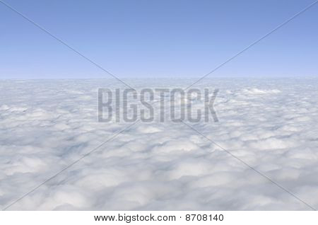 Clouds Photographed From An Airplane