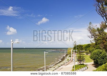 Redcliffe Coast On A Sunny Day
