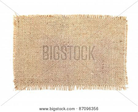 Texture Of Sack. Burlap Background Texture - Stock Image