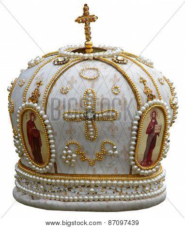 solemn headgear of the orthodox bishop
