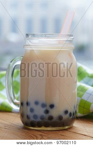 Bubble boba tea