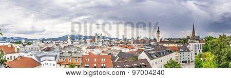Dramatic Linz Panorama