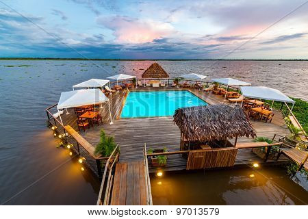 Amazon Swimming Pool