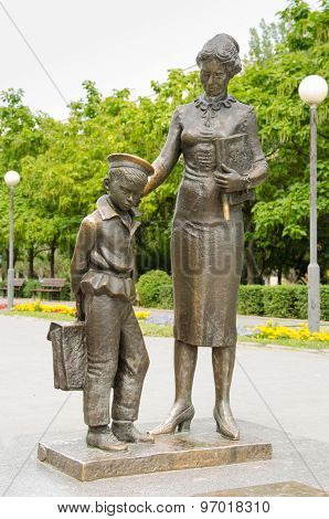 The Monument To The First Teacher Volgograd