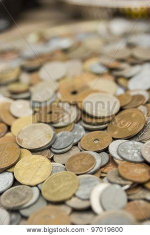 Old Metal Coins