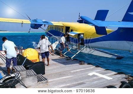 Water Air Traffic In The Indian Ocean