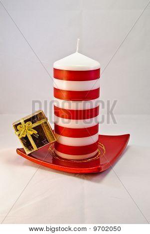 Candle And Giftbox