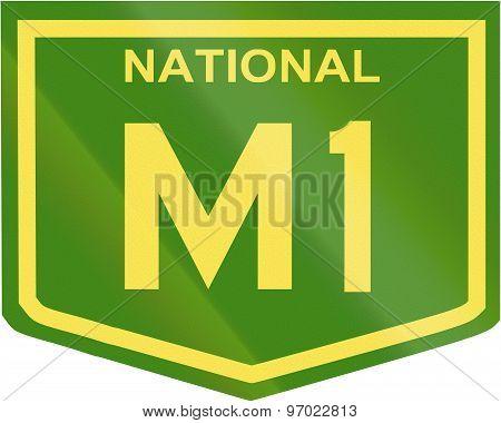 Australian National Highway Number M1