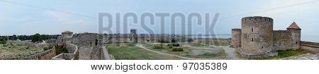 Panorama Of Akkerman Fortress In Ancient Turkish Stronghold,belgorod-dnestrovsky, Ukraine,europe